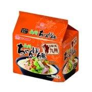 本場の味九州長崎ちゃんぽん麺 (84g×5P) 420g [即席袋麺]