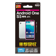 PY-AOS5FLFP [Android One S5 液晶保護フィルム 衝撃吸収 反射防止]