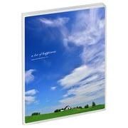 APNP-2L20-AZI [Pポケットアルバム NP 2Lサイズ 20枚収納 青空と家]