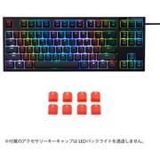 R2TLA-US4G-BK-KC [RGBテンキーレスキーボード 英語87配列]