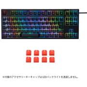 R2TLA-JP4G-BK-KC [RGBテンキーレスキーボード 日本語91キー配列]