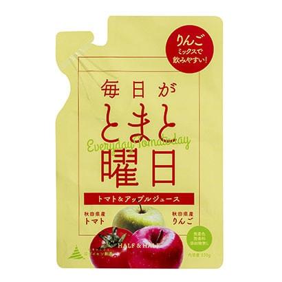 毎日がとまと曜日 トマト・リンゴミックスジュース [野菜果汁飲料]