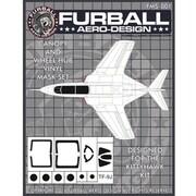 FMS-001 TF-9J キャノピー&ホイールハブ用マスクセット [1/48 マスキングシートセット]