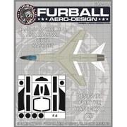 FMS-004 F-8 キャノピー ホイールハブ&ウォークウェイ用マスクセット [1/48 マスキングシートセット]