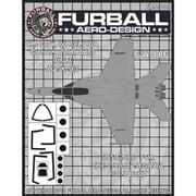 FMS-008 F/A-18F キャノピー ガンノズル IFF&ホイールハブ用マスクセット [1/48 マスキングシートセット]