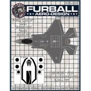 FMS-009 F-35A キャノピー& ホイールハブ用マスクセット [1/48 マスキングシートセット]