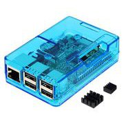 TSI-PI031-Blue [Raspberry Pi3 Model B ボード&ケースセット]