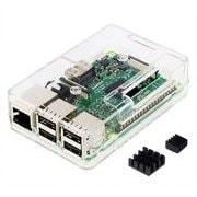 TSI-PI031-Clear [Raspberry Pi3 Model B ボード&ケースセット]