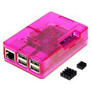 TSI-PI031-Pink [Raspberry Pi3 Model B ボード&ケースセット]
