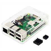 TSI-PI044-Clear [Raspberry Pi3 Model B+ ボード&ケースセット]
