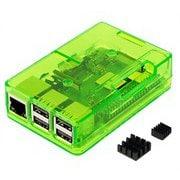 TSI-Pi044-Green [Raspberry Pi3 Model B+ ボード&ケースセット]