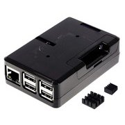 TSI-PI044-Smoke [Raspberry Pi3 Model B+ ボード&ケースセット]