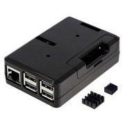 TSI-3D-Pi-Case-Black [Raspberry Pi ケース 3ple Decker トリプルデッカー]