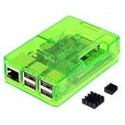 TSI-3D-Pi-Case-Green [Raspberry Pi ケース 3ple Decker トリプルデッカー]
