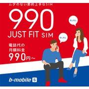 BM-JF2-P [b-mobile S 990ジャストフィットSIM申込パッケージ]