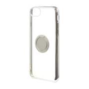 4676IP747TR [iPhone 8/iPhone 7/iPhone 6s 共用 トライタンリングメタルフレームケース シルバー×シルバー]