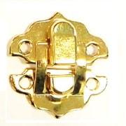ミニパッチン錠 31×29 ゴールド
