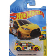 HW ART CARS  HOT WHEELS FORD TRANSIT CONNECT [ミニカー]