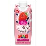 ミルク&フルーツPLUS+ ストロベリーミックス 330ml