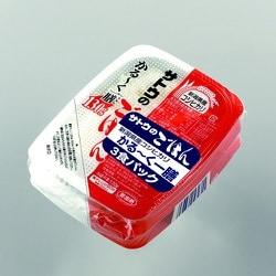 サトウのごはん 新潟県産コシヒカリ かる~く一膳 130g×3食パック 390g [レトルトごはん]