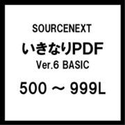いきなりPDF Ver.6 BASIC 500~999L [ライセンスソフト]