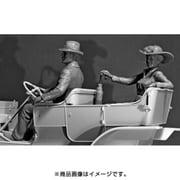 アメリカン ドライバー&女性(1910s) [1/24スケール プラモデル]