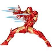 アメイジングヤマグチ Series No.013 IRONMAN Bleeding edge Armor (アイアンマン ブリーディングエッジアーマー) [塗装済可動フィギュア 全高約170mm]