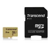 TS8GUSD500S [microSDHCカード 8GB アダプタ付 UHS-I U1 MLC]
