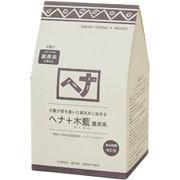 ヘナ+木藍(もくらん) 黒茶系 N 400g [白髪染め]