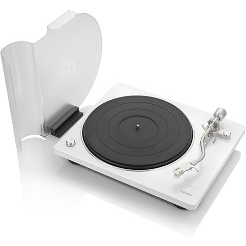 DP400WTEM [レコードプレーヤー ホワイト]