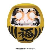 HKDM-11-YE-14 [福だるま 11号 黄色 【商賣繁昌・目標達成】 33×30×31cm]