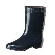 GL ゾナ耐油 PVCブーツ 黒 27.0cm