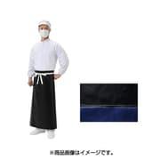 LON-T-N ロン耐油 PVCエプロン 黒 M