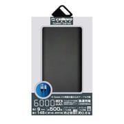 EP6000NY-BK [モバイルバッテリー/リチウムポリマー/2.1A/Energia NY 6000/薄型フラット/6000mAh/PSE適合/BLACK]