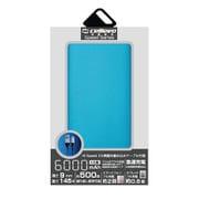 EP6000NY-BL [モバイルバッテリー/リチウムポリマー/2.1A/Energia NY 6000/薄型フラット/6000mAh/PSE適合/BLUE]