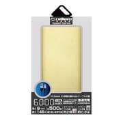 EP6000NY-GD [モバイルバッテリー/リチウムポリマー/2.1A/Energia NY 6000/薄型フラット/6000mAh/PSE適合/GOLD]