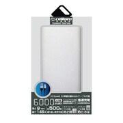 EP6000NY-SL [モバイルバッテリー/リチウムポリマー/2.1A/Energia NY 6000/薄型フラット/6000mAh/PSE適合/SILVER]