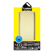 EP14000NY-GD [モバイルバッテリー/リチウムポリマー/2.1A/Stick NY 14000/スティック型/大容量/14000mAh/PSE適合/GOLD]