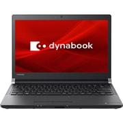 P1R3JPEB [Dynabook R3/13.3型/Celeron 3865U/メモリ 4GB/SSD 256GB/Windows 10 Home 64bit/Microsoft Office Home & Business 2019/グラファイトブラック]