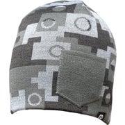 Beanie WINTER Gray Camouflage(One Size) [ビーニー ウインター グレーカモフラージュ]
