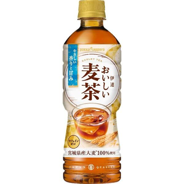 伊達おいしい麦茶 525ml×24本