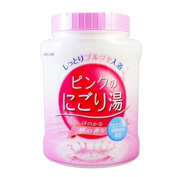 ピンクのにごり湯 桃の香り 本体 [入浴剤]
