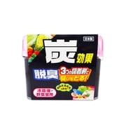 炭効果 冷蔵庫・野菜室用脱臭剤ゲル 140g [脱臭剤]