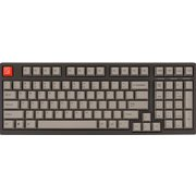 AS-KBM98/TCGB [Maestro2S テンキーレス メカニカルフルキーボード PBTキーキャップ 英語配列・98キー Cherryクリア軸搭載モデル]