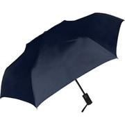 429002 紳士折り畳み傘 自動開閉/無地 55cm ネイビー