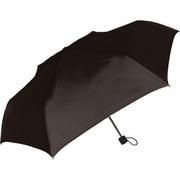 429004 紳士折り畳み傘 耐風/無地 65cm ブラック