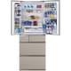 NR-F505XPV-N [パーシャル搭載冷蔵庫(501L・フレンチドア)6ドア エコナビ/ナノイー搭載 マチュアゴールド]