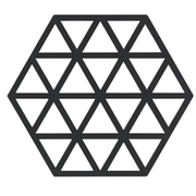 トリベット HEXAGON ブラック [鍋敷き]