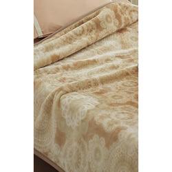 2010-13851 [Good Night Plus アクリルニューマイヤー毛布(毛羽部分) 消臭 抗菌 ベージュ 約140×200cm]