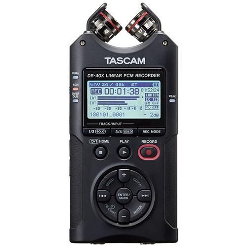 DR-40X [4トラックデジタルオーディオレコーダー/USBオーディオインターフェース]